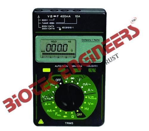 3 3/4 Digital Multimeter TRMS