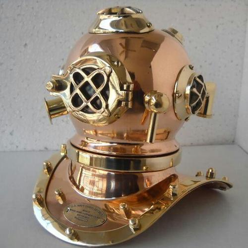 Antique Brass Diving Helmet