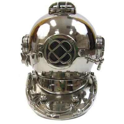 Chrome Divers Helmet