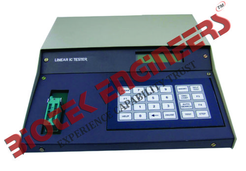 Linear IC Functional Tester (Microprocessor Based)