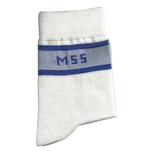 White School Socks