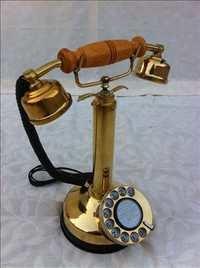 Vintage Brass Telephone