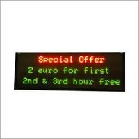 3 Line LED Display Board