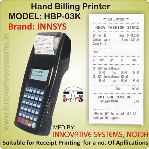 Handheld Billing Printer