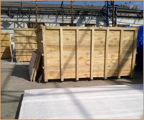 Heavy Machine Big Wooden Frame Box