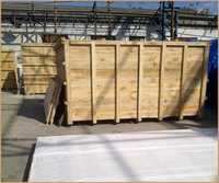 Heavy Machine Big Wooden Frame Box