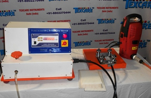 Pluri Tubular Bags Bursting Strength Tester