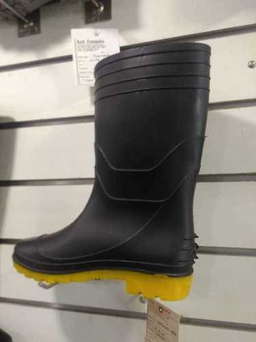 Welcome yellow black Safety Gumboots