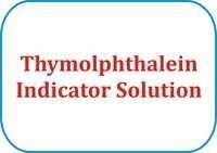 Thymolphthalein Indicator Solution