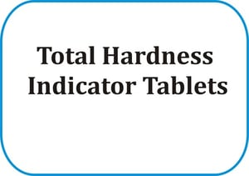 Total Hardness Indicator Tablets
