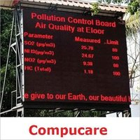 Weather and Air Quality Information Displays