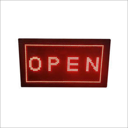 Open Close Display Boards
