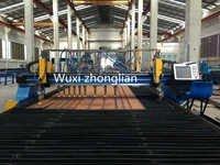 H Beam Welding Line Strip Cutting Machine
