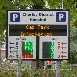 LED Displays for Parking Management System