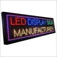 LED Display Board for Restaurants
