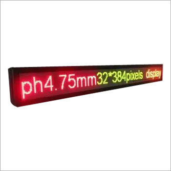 Moving Text LED Display Boards