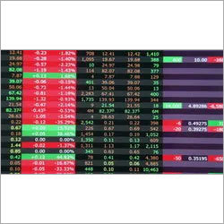 LED Stock Ticker LED Display