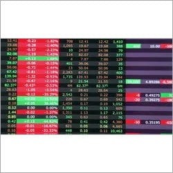 Led Stock Ticker Led Display Application: Mall