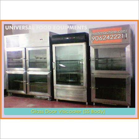 Glass Door SS Body Visicooler