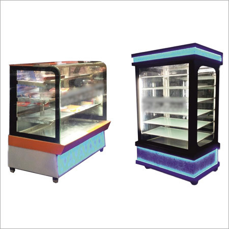 Straight Glass & Vertical Display Counter
