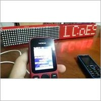 SMS Based LED Sign Display