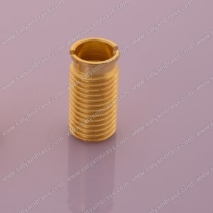 Brass CNC Turned Look Inserts