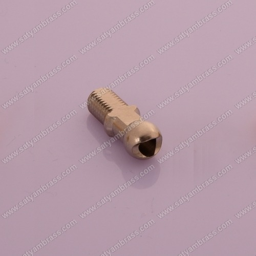 Brass Round Head Bolt
