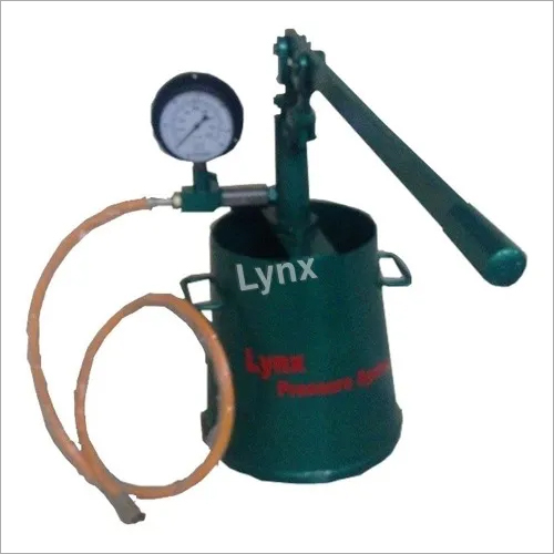 Hand Operated Hydrotest Pump upto 2000 PSI