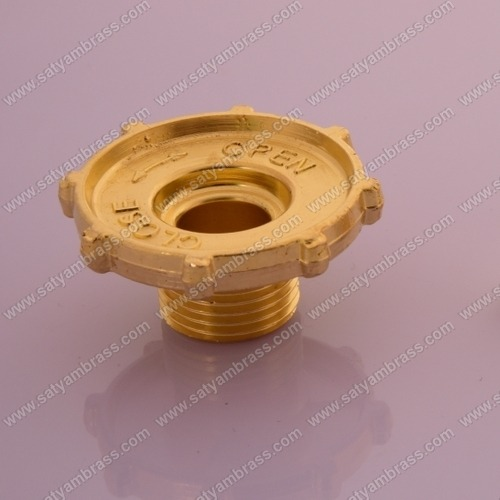 Brass Gas Valve Part