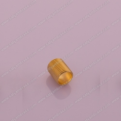 Brass Threaded Round Bush