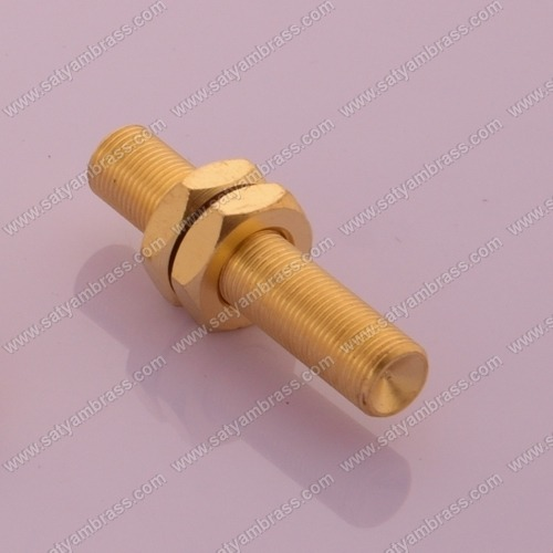 Brass Threaded Stud With Nut