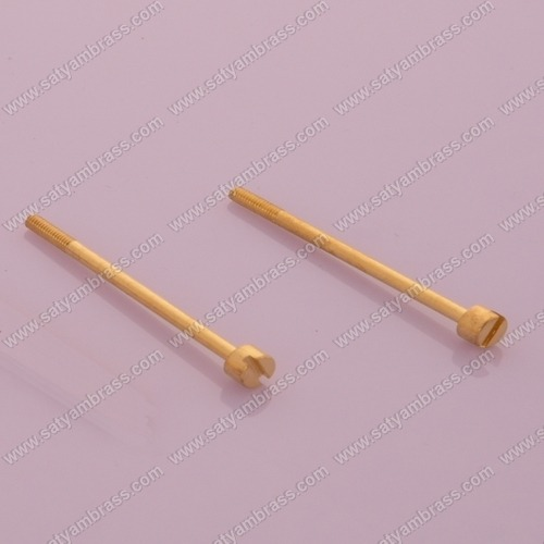 Brass Half Threaded Meter Screws