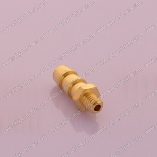 Brass Threaded Hose Nipple