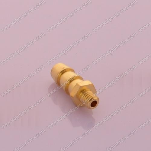 Brass Threaded Hose Nipple