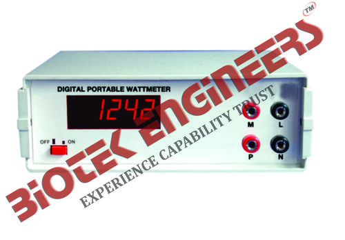 Digital Portable Meters (V , I , F , W)