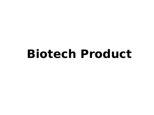 Biotech Product