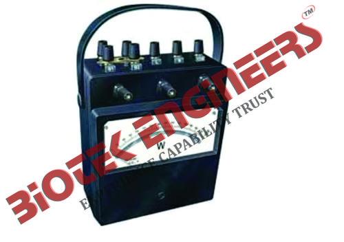 Wattmeter - Analog Portable