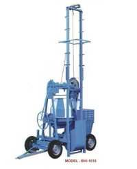 TWO POLE LIFT WITH MIXER