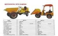 Mechanical Site Dumper