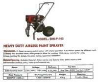 Heavy Duty Airless Paint Sprayer