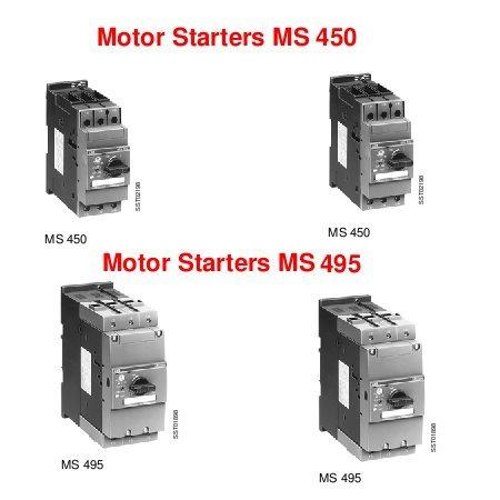 Motor Starters MS 450-MS495