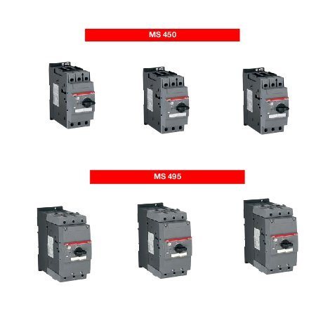 Motor Starters With Thermal & Magnetic Protection