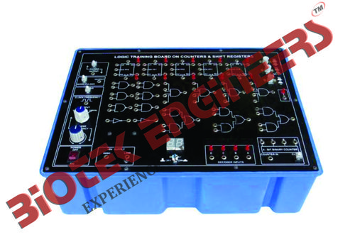 Logic Training Board on Counters & Shift Registers