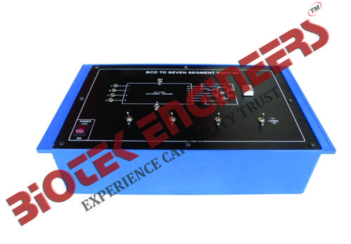 BCD to Seven Segment Display