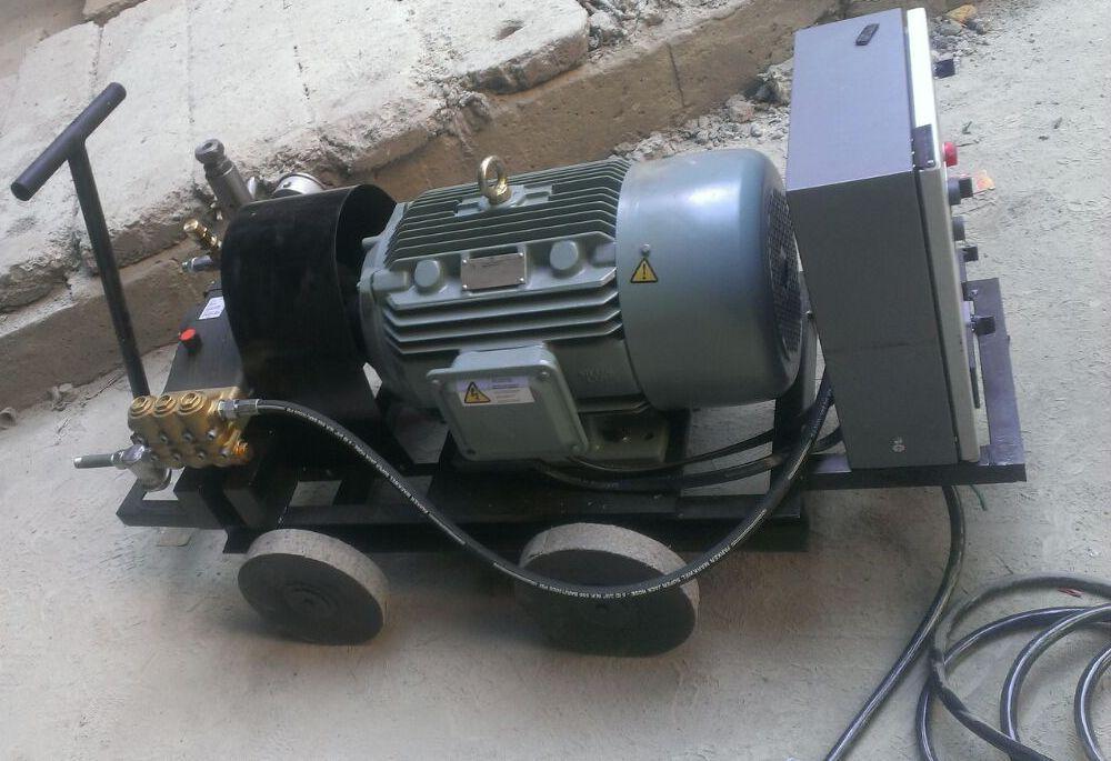 Triplex Hydrostatic Test Pump