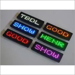 LED Message Scrolling Display Board
