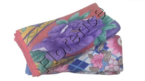 Quilted Flower Polar Blanket