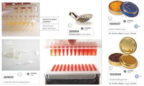 Caviar Box Silicones Replacements