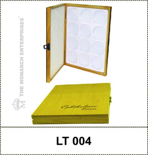 Wooden Lens Display Rack Set of 5 Trays