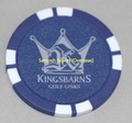 Poker Chip Golf Markers